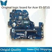 Original Logic board for Acer E5 571G A5WAH LA B991P Motherboard I5 I3 WITH GPU
