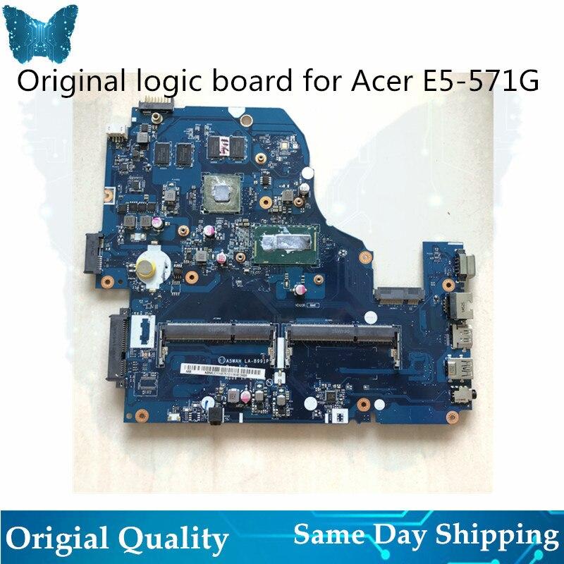 Original New Logic board for font b Acer b font E5 571G A5WAH LA 8991P Motherboard
