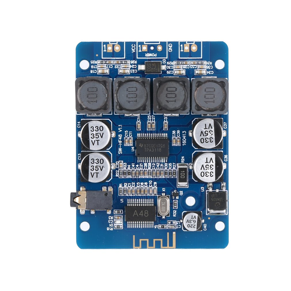 Ultra Small Digital Power Amplifier Board Tpa3118 Digital Amplifier 2X30W Stereo Modified Speaker Hf48