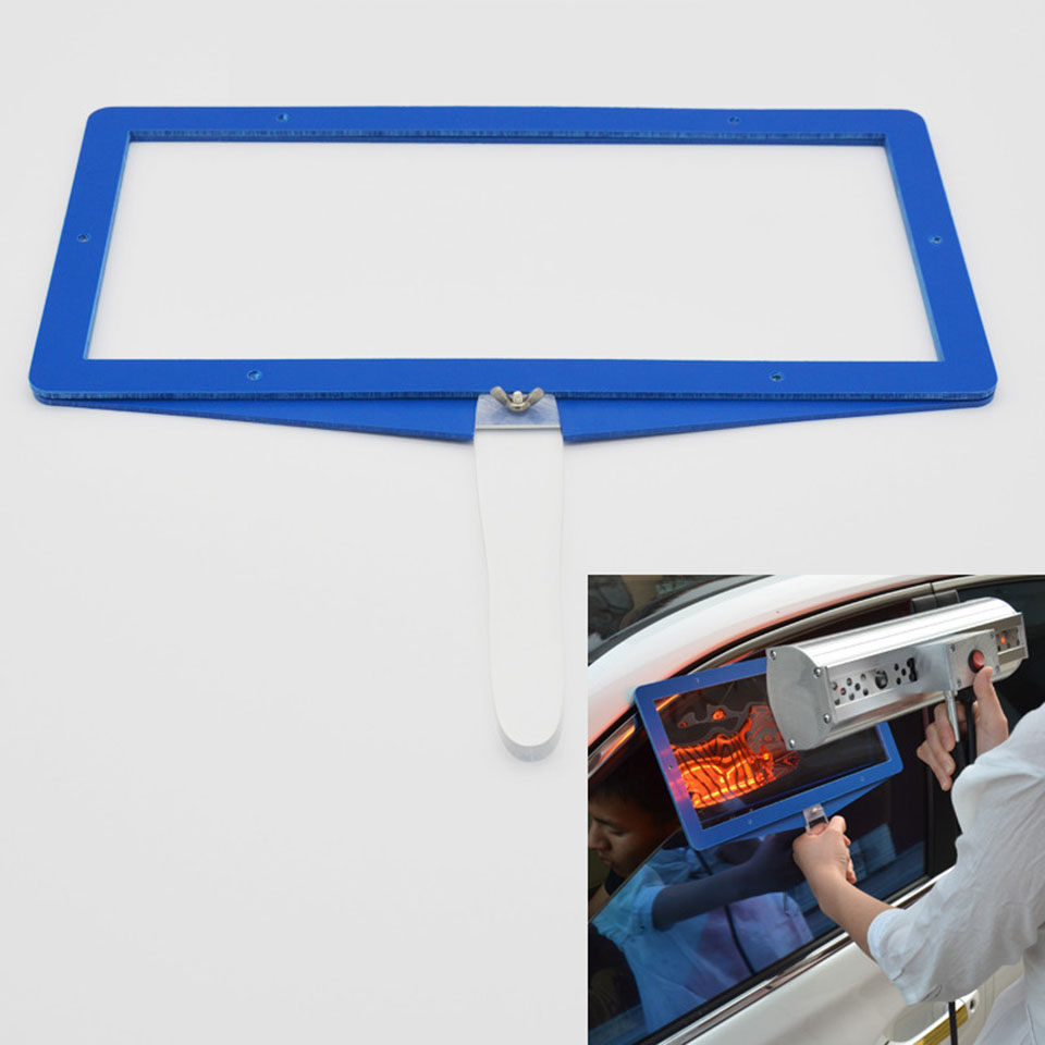 Hand hold Window Tint Sun solar Film heat Test panel For Window Film Heat Test Heat rejection performance Demo KD 01B