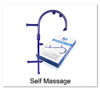 Massage Roller Stick Back Hook Massager Tool Massage Rod Neck Muscle Pressure Stick Self Massager Trigger Point Original Point 7