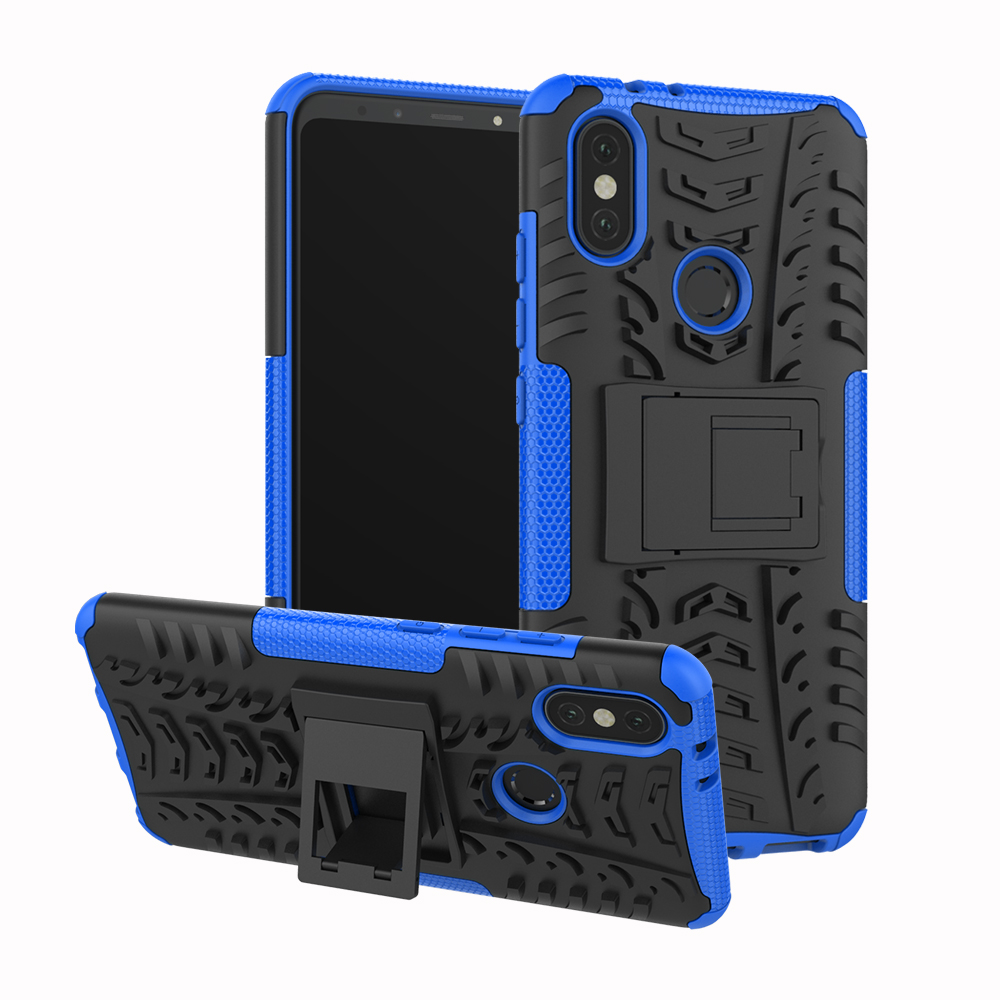 Case For Xiaomi 6X Mi A2 Lite Shockproof Back Cover Heavy Duty Armor Hard Plastic Silicone Phone Cases For Redmi 6 Pro 6Pro