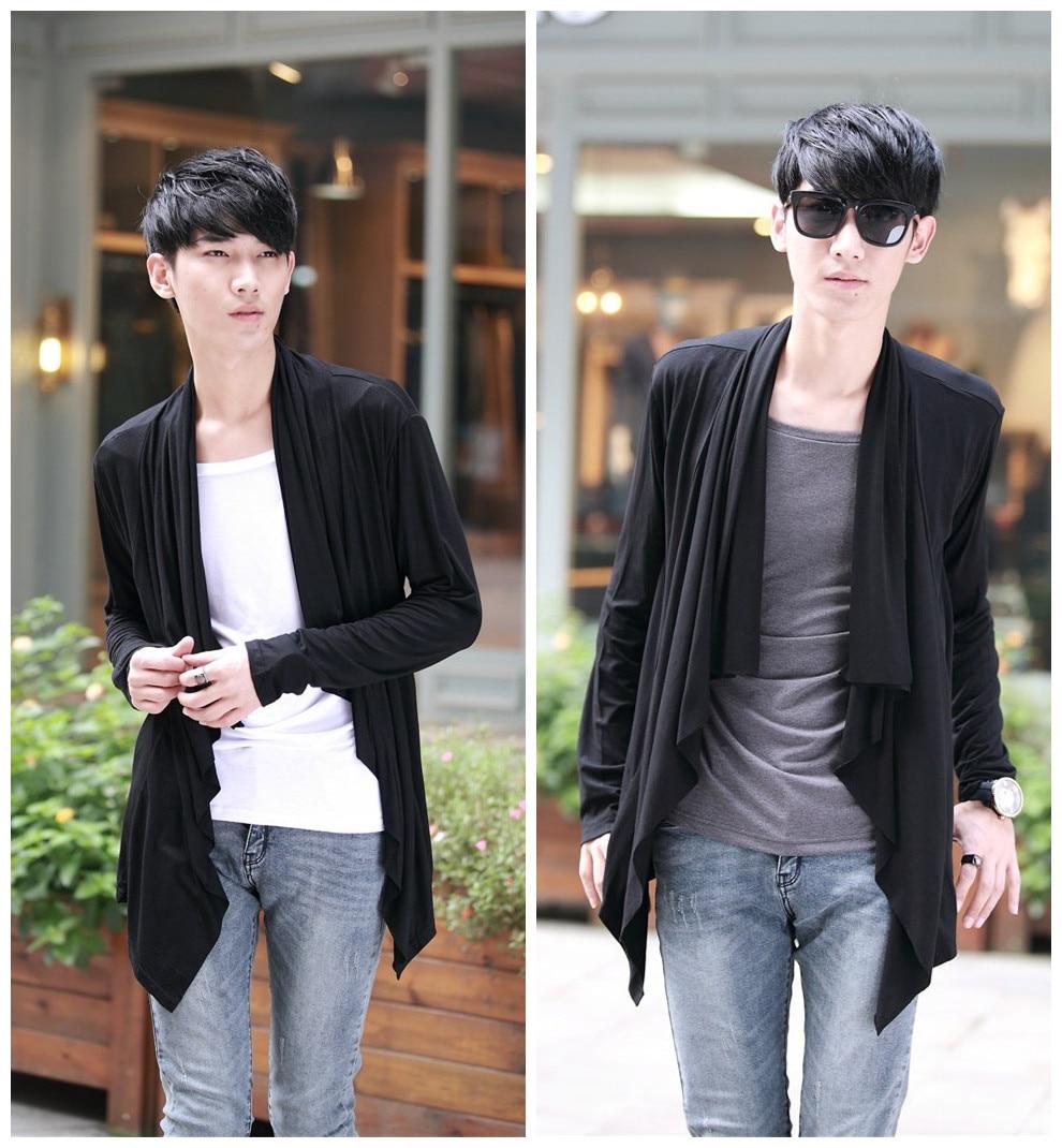 Naujas mokyklos stiliaus korėjiečių tendencija klaidingas dviejų - Vyriški drabužiai - Nuotrauka 2