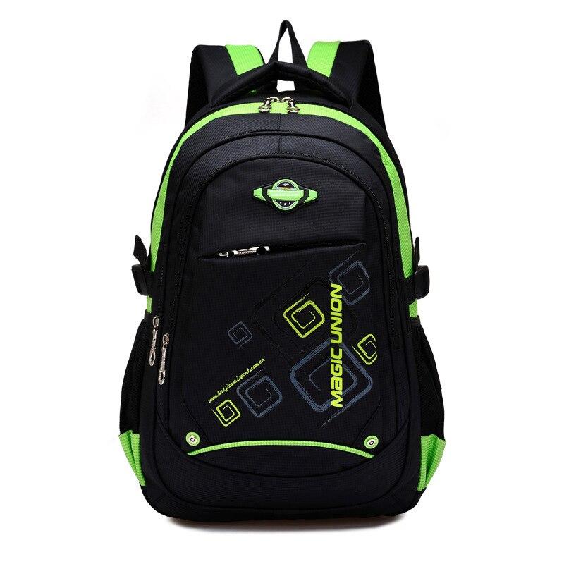 Backpacks Mochila School-Bags Shoulder Lighten on for Kids Infantil Zip Burden Nylon