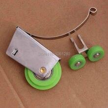 Мебель солонка нержавеющая сталь раздвижная дверь платяной шкаф ролик ванная подвесной колесо раздел ролик солонка