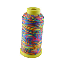 1000D/3 high tenacity nylon sewing thread  colors embroidery ,Free shipping.