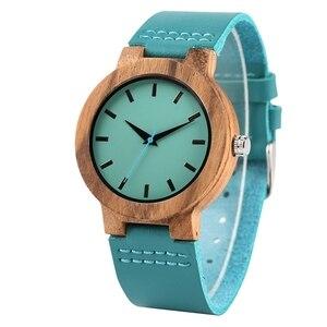 Image 4 - 刻ま DIY カスタム単語に私の妻私ソウルメイト時計木製腕時計レディース時計時間女性の妻のアニバーサリーギフト私の天使