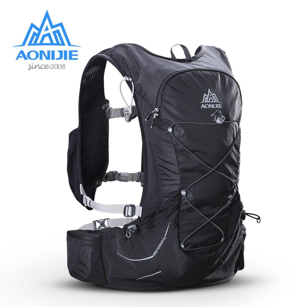 AONIJIE C930 Hidratação Mochila Mochila Saco Ao Ar Livre Leve Livre 3L Bexiga de Água para Caminhadas Camping Correndo Maratona Corrida