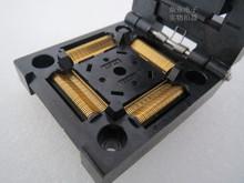 Z klapką 100 oryginalne i nowe IC51-1444-1354-23 IC spalania siedzenia Adapter testowania miejsce badania gniazdo stanowiska do badań w magazynie darmowa wysyłka tanie tanio Tester kabli JINYUSHI