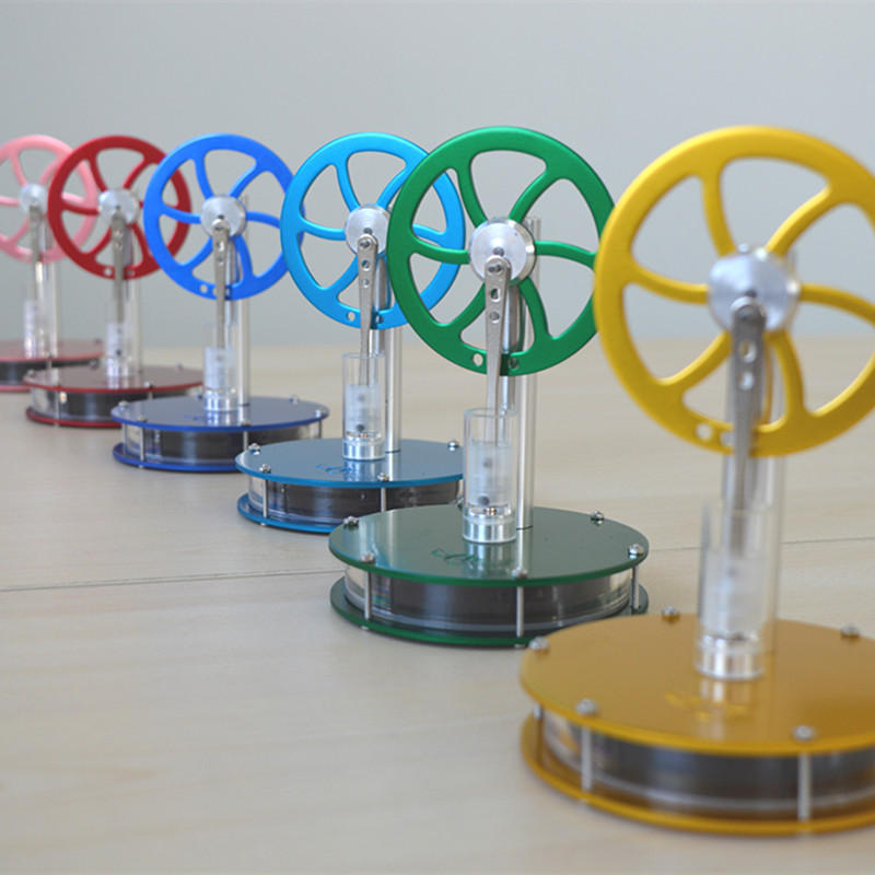 Low Temperature Stirling Engine Model Steam Engine Engine  Science Experiment Toy Novelty Birthday Gift