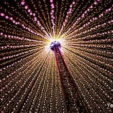 10 м светодиодные гирлянды 100 светодиодов с контроллером для рождественской елки, дома, двора, вечеринки, сада, праздничного декора 110 В/220 В Q