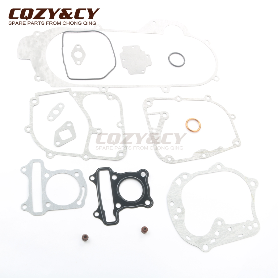 Scooter 400mm Gasket set for Kymco Agility RS 50 Basic Carry City MMC One 50 DJ S Filly Like 50cc 10 inch rim 4 stroke