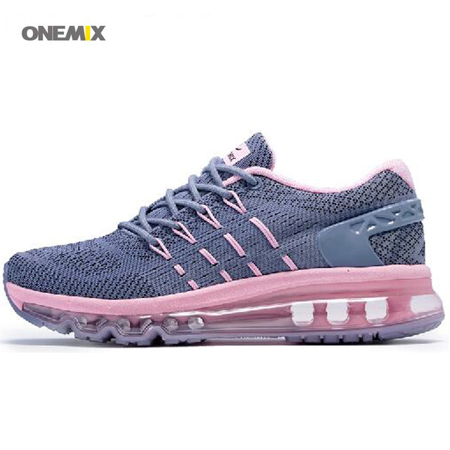 ONEMIX New Style Unique Tongue Design Female Breathable Sport Air Sneakers For Comfortable Outdoor Women's Running Shoes 1155