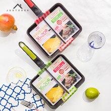 Life83 16×20 CM Japanischen Tamagoyaki Braten Ei Pan Pfannkuchen 2 in 1 Pfannen antihaft Allgemeine Verwendung für Gas und Induktionsherd
