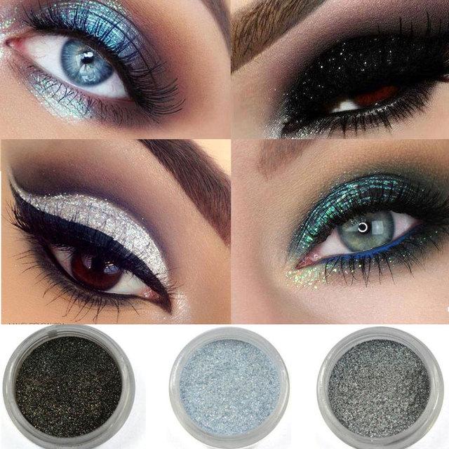 Brand Makeup 12 Colors Eye Shadow Flash Powder Super Bright Pearl Shining Bright Glitter Powder Pink Diamond Shimmer Eye Shadow