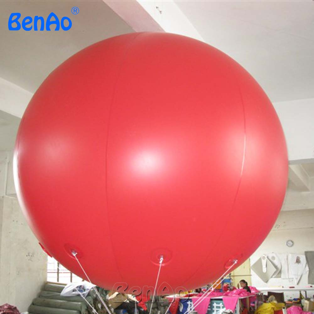 AO058M  2M hot selling inflatable advertising  Helium Balloon Ball PVC  helium balioon / inflatable sphere/sky balloon for sale