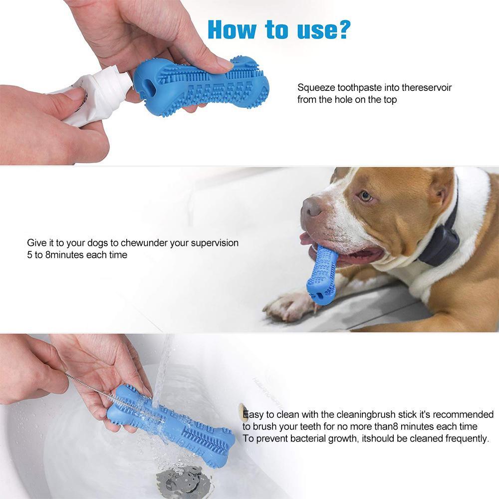 Cepillo dental para perro masticable 7