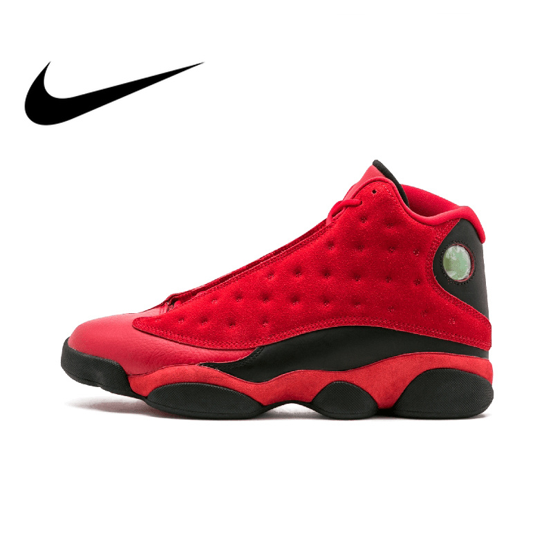 finest selection 01c36 37dd7 US $226.98 40% OFF|Original Authentic NIKE Air Jordan 13 Retro SNGL DY