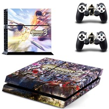 Warriors Orochi 4 PS4 Vinyl Skin Sticker Cover for Playstation 4 System Console and Two Controllers