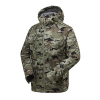 GSOU SNOW Outdoor Men S Soft Shell Jacket Hiking Camouflage Hooded Jacket Waterproof Windproof Keep Warm