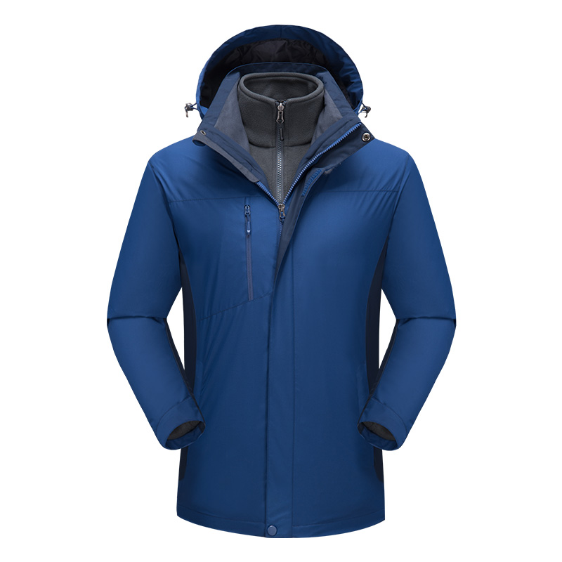 Outdoor Waterproof Windproof Jackets winter Windbreaker Jacket Hood Coat DIY embroidery logo team uniform mountaineering wear
