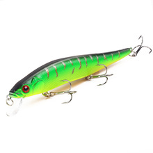 купить 140mm 22.5g Sea Fishing Lure Bait Hard Artificial Floating Minnow Baits Fishing For Lake River 3D Eyes Carnkbait Pesca дешево