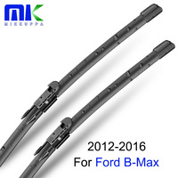 QEEPEI Car Wiper Blades For Ford B Max 2012 Onwards Combo Front And Rear Professional Windscreen
