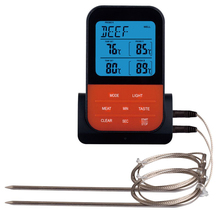 EAAGD Wireless Digital BBQ Meat Thermometer Accessories Grilling Cooking Kitchen Tools  Instant 2 Read Probes Included