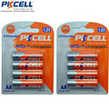 8 peças de 2 cartões-ni zn nizn aa baterias recarregáveis baterias aa 2500mwh nizn 1.6 v volt