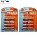 8 unidades 2 tarjetas ni-zn 2500mwh aa nizn aa baterías recargables nizn 1.6 v voltios baterías