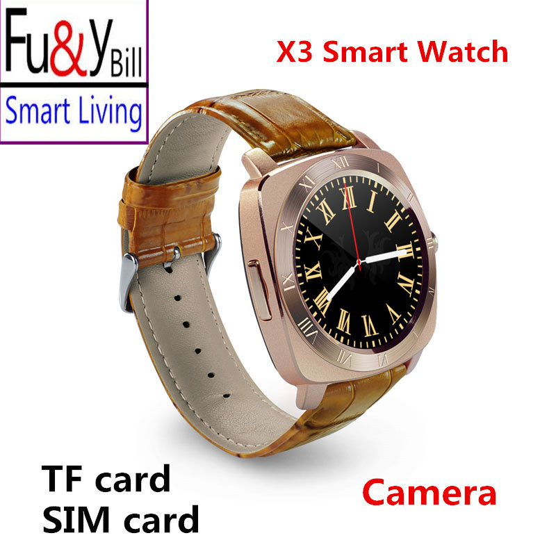 X3 All Round Screen Smart Watch Phone Camera Can Be Inserted Into The Phone Card Synchronous