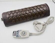 Byriver リアルトルマリン暖房マッサージ枕の襟、電気温暖化ネックマッサージ、救済頚椎筋肉痛テンション 220 v