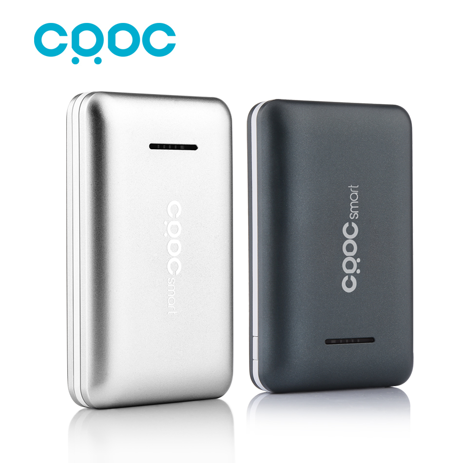 CRDC Smallest 10000mAh Dual USB Power Bank Pack External Battery With Li ion Polymer Portable Charger