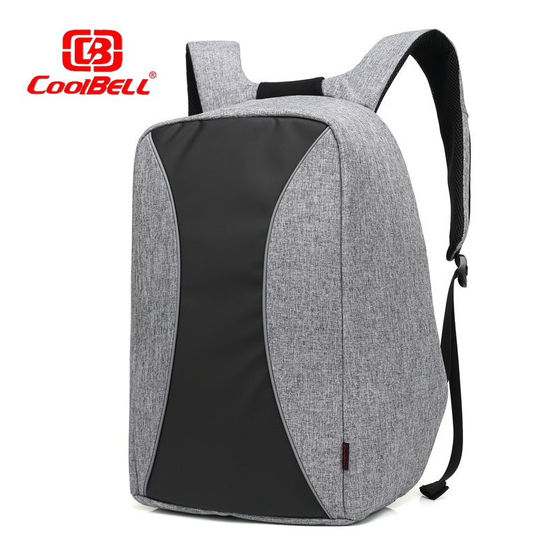 CoolBell Anti-theft Notebook Backpack 17 17.3 inch Waterproof Computer Backpack for Men Women Laptop Bag External USB Charge brand external usb charge computer bag anti theft notebook backpack 15 17 inch black waterproof laptop backpack for men women