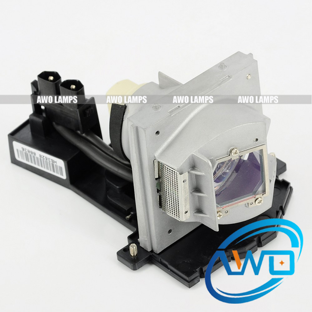 AWO Replacement Projector Lamp SP.87J01GC01 with Housing for OPTOMA DX752 180 Day Warranty awo high quality projector lamp sp lamp 078 replacement for nfocus in3124 in3126 in3128hd