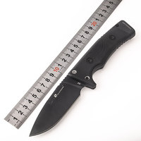 HX OUTDOORS good Straight Blade Knife anti skid handle Knifes D2 stainless steel EDC tools Survival Hunting Camping Outdoor tool