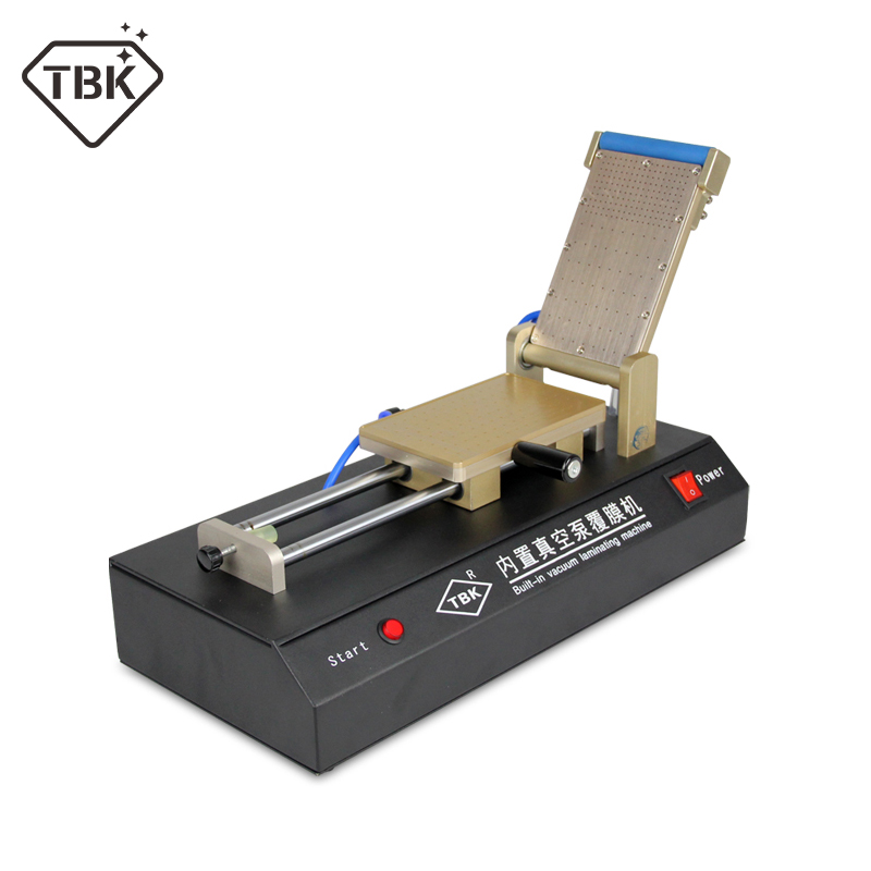 high quality TBK-761 Built-in Vacuum Film Laminating Machine for Laminate Polarized Film OCA Laminator цена