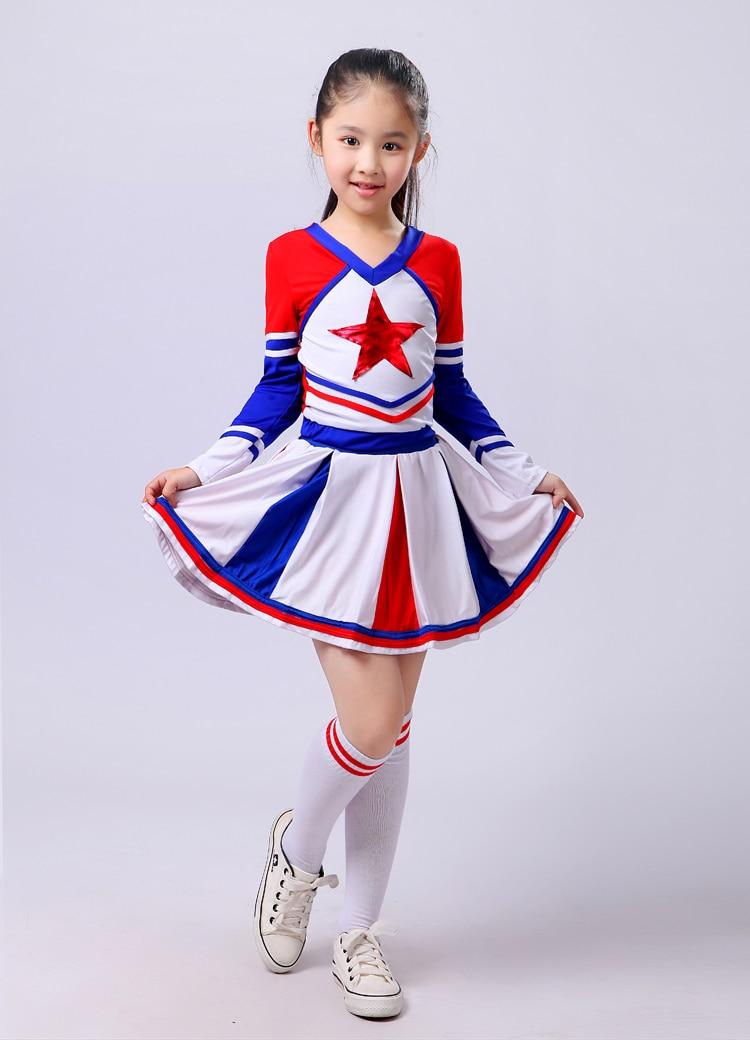 Children Adult cheerleading Performance Clothing cheerleader dance costume