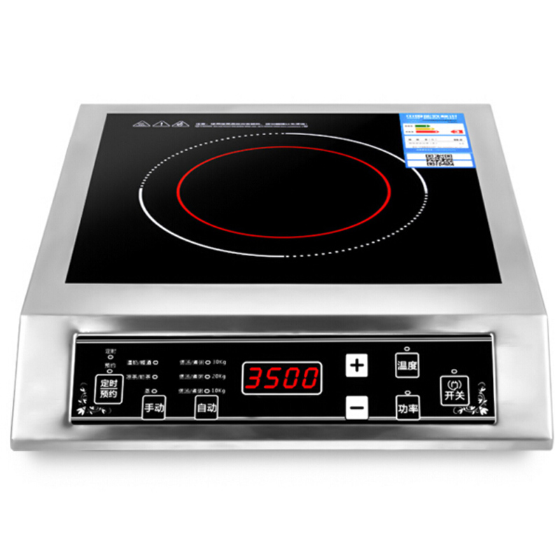 все цены на VOSOCO Electromagnetic oven Commercial Induction cooker touch Control 3500W Electromagnetic furnace Stir frying cooking porridge онлайн