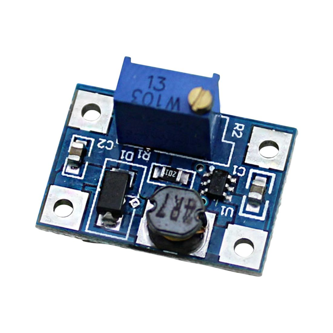 JFBL Hot 5pcs High Current 2A SX1308 DC-DC Adjustable Boost Module