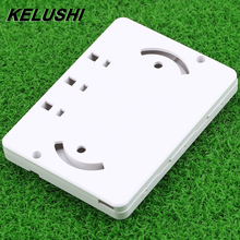 KELUSHI 50pcs Drop cable Optical Protection box 3 in 3 out heat shrink tubing protect splice wire fiber optic cable tool