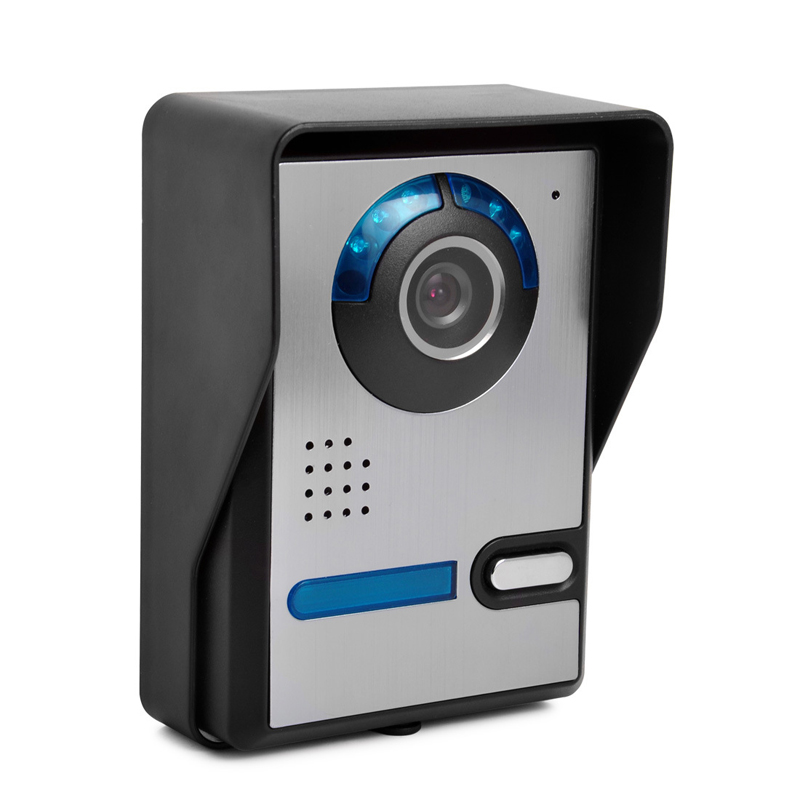 Wired Infrared Waterproof Video Intercom Doorbell Home Doorbell One-On-One Access Control
