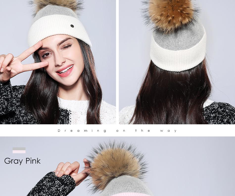 Winter Hat For Women MZ744 (15)