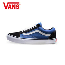 Vans Old Skool Sneakers Low-top Trainers Unisex Men Women Sports Weight lifting shoes Flat Breathable Classic Canvas Vans Shoes(China)