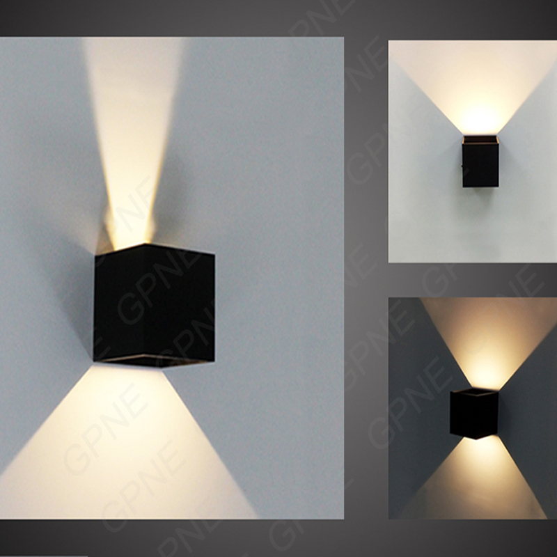 Online buy wholesale cube light from china cube light for Exterior up and down lights led