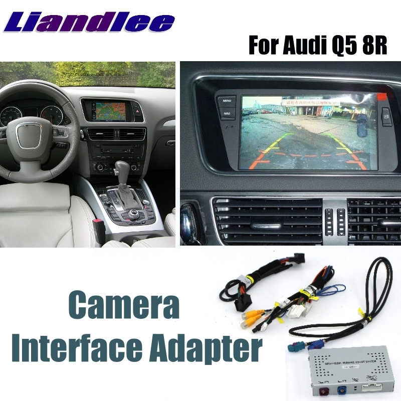 Liandlee парковочная камера интерфейс обратная резервная камера наборы для Audi Q5 8R MMI дисплей обновление