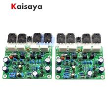 2 pièces classe AB MX50X2 amplificateur de puissance Audio kit à faire soi même et socle de carte assemblé sur fidélité musicale XA50 circuit F10 011