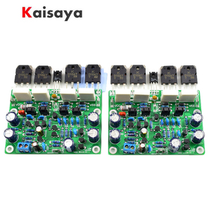 Image 1 - 2pcs Class AB MX50X2 Audio Power Amplifier DIY kit and Assembled board Base on Musical fidelity XA50 circuit F10 011