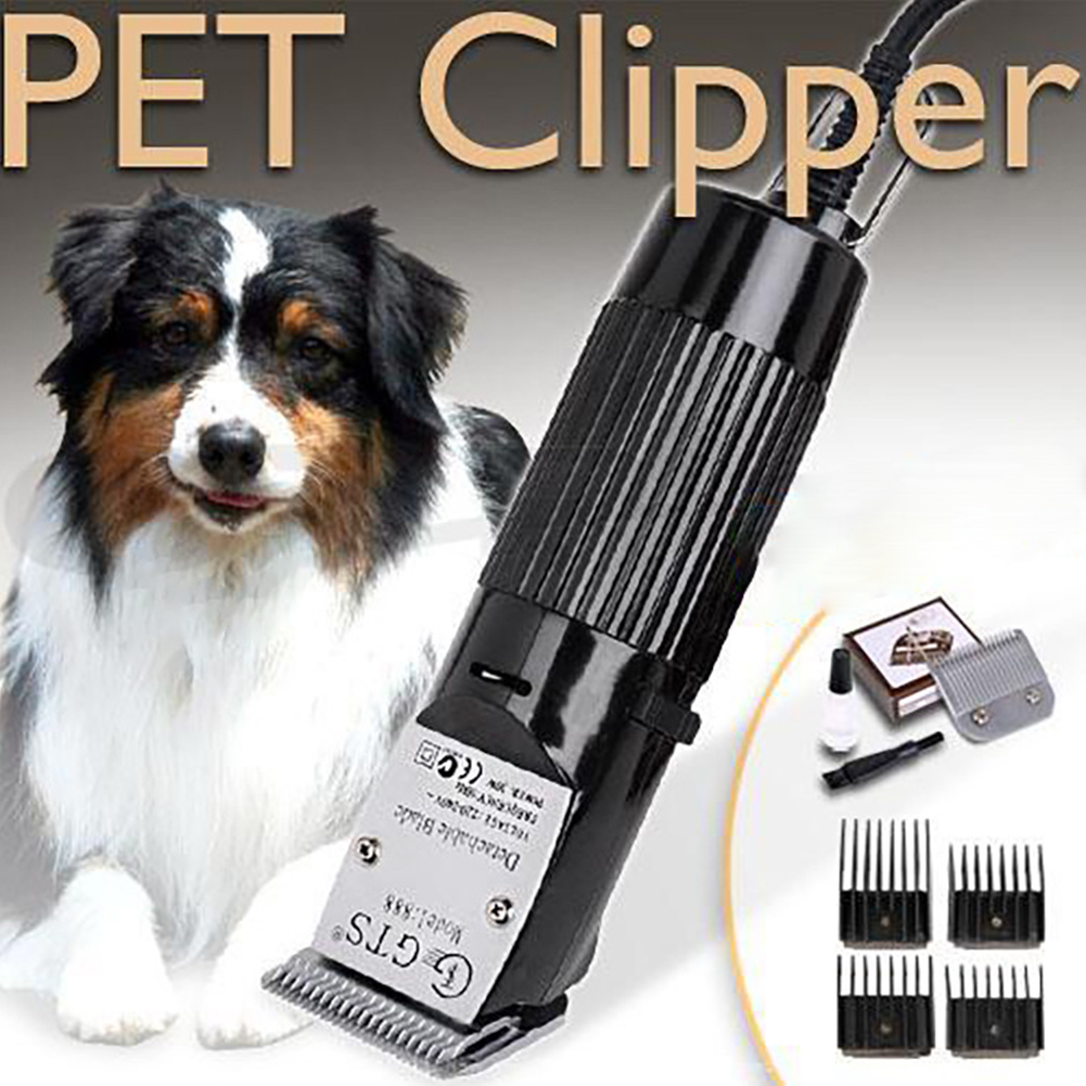 Heavy Duty Electrical Cutter Cat Trimming Pet Hair Clipper Razor Quiet Grooming Tool Detachable Shavers Trimmer