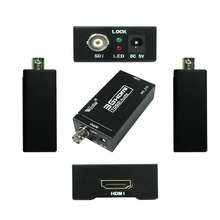 Wiistar HDMI to SDI Outputs Converter Support 720P and 1080P (HDMI to SDI)